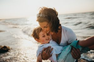 Blog #8_Ways to a life more fulfilled_Mother Happy with Son